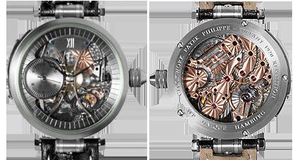 JTP unique Uhr mit historischem Laufwerk von Patek Philippe