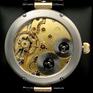 Altes Schweizer Uhr Werk von IWC, neu gestaltet von JTP unique Hamburg
