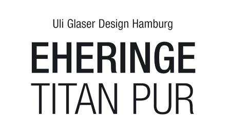 Eheringe Titan Pur