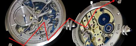 Uhr Blue Complication von JTP